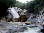 A challenging waterfall awaits discovery