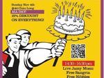 Bookworm celebrates birthday with website launch