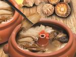 Double Boiled Chicken Herbal Soup