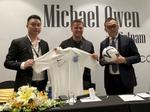 Michael Owen in Việt Nam to launch fashion brand