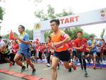 Blue Flash of Lighting win Ha Noi run