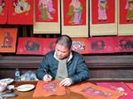 Traditional folk painting enjoys a revival