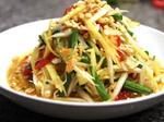 Khmer mixed papaya salad: specialtyin An Giang