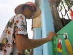 Young artists give Hà Nộivillage a new coat of paint