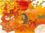 Painting workshop on Vietnamese folk tales