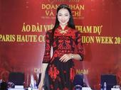 Đỗ Trịnh Hoài Nam's áo dài collection opens Paris Fashion Week-Haute Couture 2018