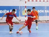 Futsal team finish training, leave for Asian champs