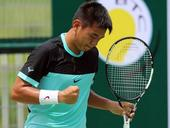 Nam in quarters of HK F6 tennis tournament