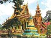 Mekong province builds Khmer culture-tourism village