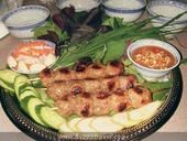Nem nướng Cái Răng, a specialty of Cần Thơ