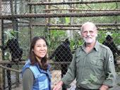 Book on ape expert published