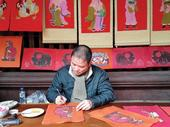 Traditional folk painting enjoys a revival