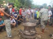 Bronze drum casting contest in Thanh Hóa