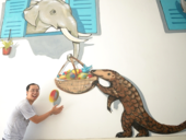 Street Art Bus Tour paints murals to raise awareness aboutwild-animal protection