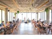 Dragonfly Restaurant offers a summer beach retreat