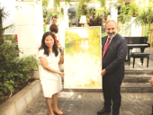 Armenian Prime Minister and his wife enjoy a taste of Việt Nam