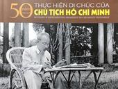Photo book honours President Hồ's testament