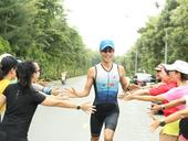 Triathlete goes beyond just running