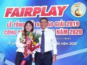 Midfielder Kiều wins Fair Play Award