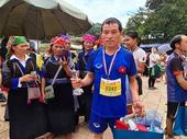Hờ A Củ wins run in Mù Cang Chải terraced fields