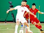 Việt Nam have advantage after first leg of futsal playoff: coach