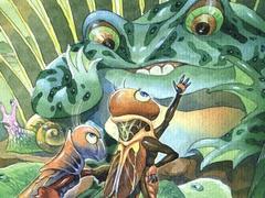 Exhibition on famous children's book