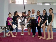 Circus maestro with a passion for teaching