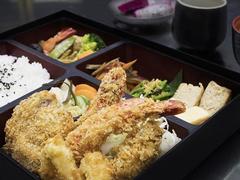 Assorted Deep Fried Bento
