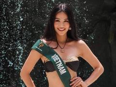 Miss Việt Nam won silver medal in Miss Earth swimsuit sub-contest