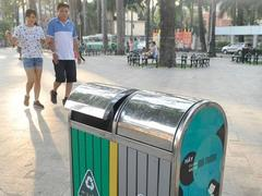 Company proposes adverts on rubbish bins in HCM City