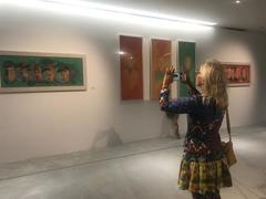 VCCA hosts exhibition of silk paintings and small sculptures