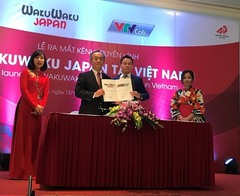 Japanese channel launched in Việt Nam