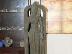 Vĩnh Long displays ancient statue of Saraswati goddess