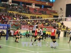 Kinh Bắc win Kinh Bắc women's volleyball event