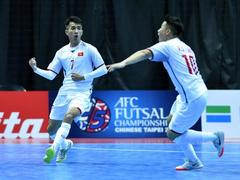 Việt Nam beat Bahrain in AFC Futsal Champs