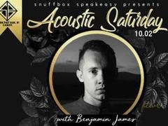 Acoustic Saturday