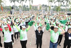 Herbalife, VN athletic sponsor, organises Fun Run ahead of Asiad