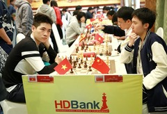 Minh in top three at HDBank chess tournament