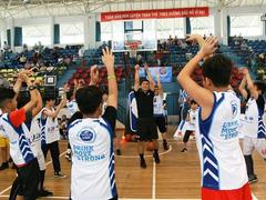 Jr. NBA 2018 kicked off in VN