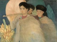 VN master painter's work auctioned in France