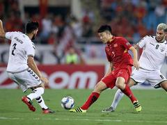 Vietnam team gets ready to face Jordan in Asian Cup
