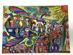 14 awarded first prizes at Toyota art contest