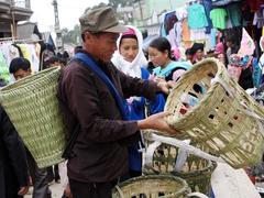 Dào San market: Panorama of Lai Châu life