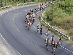 Minh wins 13th stage of cycling event