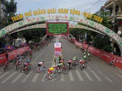 Tâm secures third win in cycling event