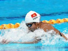 Viên adds bronze medal at Pro Swim Series