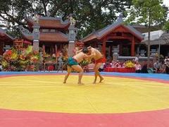 National top wrestlers tournament begins in Bắc Ninh