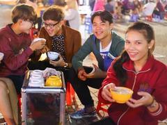 Tastes of Đà Lạt night market