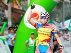 Thái goes green after second cycling win
