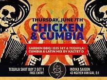 Chicken and Cumbia at Indika